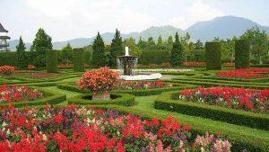 Wisata Alam Jabodetabek Paling Terbaik - taman bunga wiladatika
