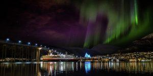 tempat wisata terindah di dunia - Aurora, Norwegia