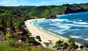 Pantai Srau wisata di pacitan