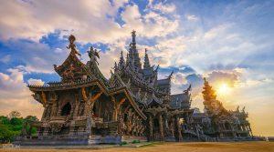 Sanctuary Of Truth - tempat wisata di pattaya