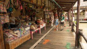 Pattaya Floating Market - tempat wisata di pattaya