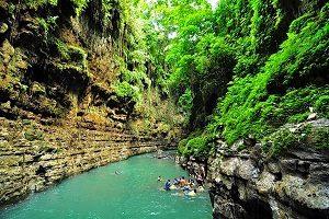Cukang Taneuh (Green Canyon)
