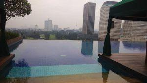 Kolam Renang Rooftop Senayan City