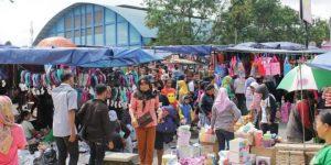 Pasar Tumpah Jalan Olahraga