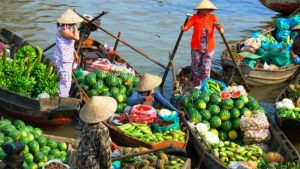 Phong Dien Floating Market, Can Tho