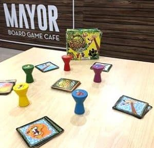 mayor board game cafe